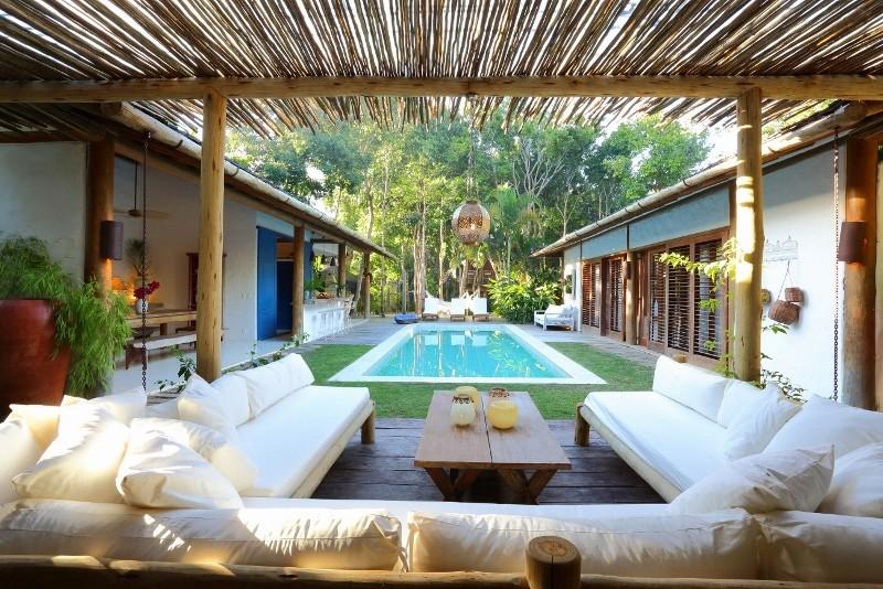 Hotel de luxo em Trancoso | Crédito: Vogue Brasil