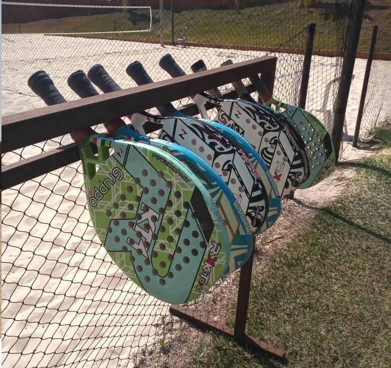 Raquetes de beach tennis | Foto: Amanda Pioli