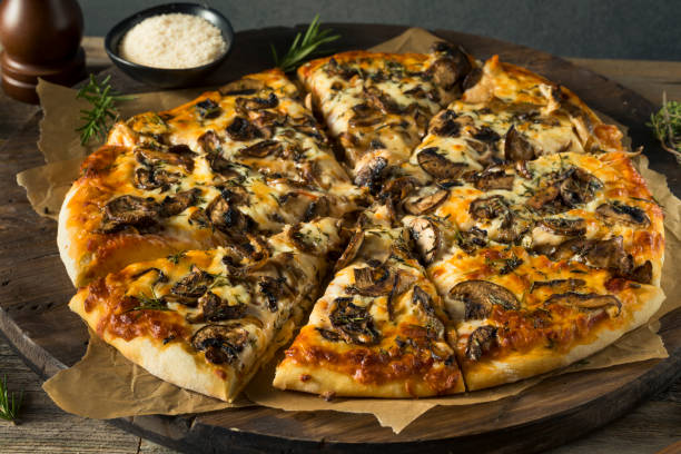 Pizza de cogumelo | Foto: iStock