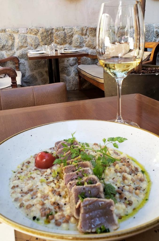 Focado no atum selado, o prato hamoniza muito bem com vinho branco   Foto: Arquivo pessoal