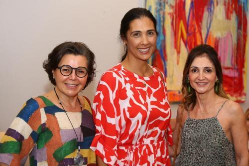 Maria Angela Cury, Alessandra Stocche e Monike Jordão | Foto: Rafael Cautella