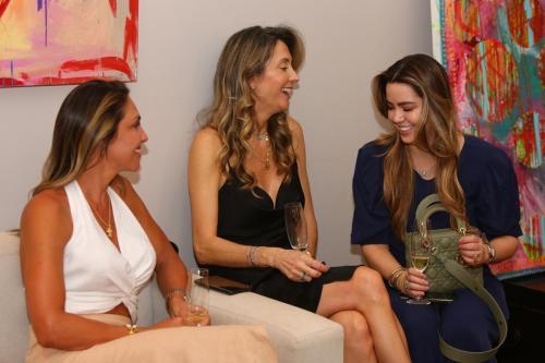 Tatiana Ravagnani, Vanessa Bernardini e Maria Fernanda Junqueira | Foto: Rafael Cautella