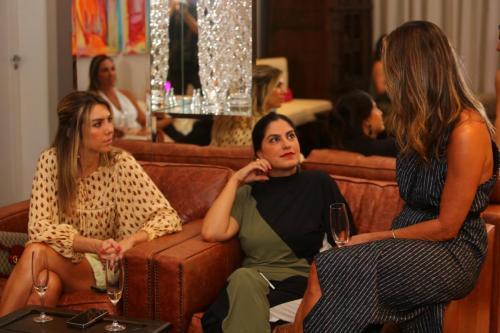 Ana Dinardi, Patrícia Gama Balbo e Adizza | Foto: Rafael Cautella