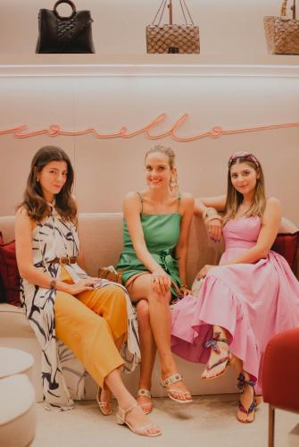 Mayara Ugucione, Gabriela Silvarolli e Manuela Cavalcanti | Crédito: Malu Brito