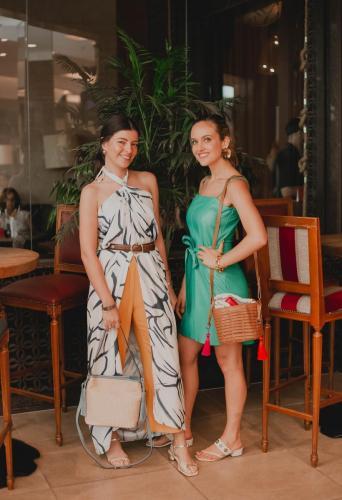 Mayara Ugucione e Gabriela Silvarolli | Crédito: Malu Brito