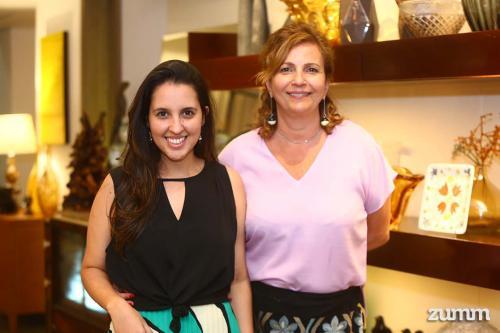 Dayanne Andrade e Rita Rebehy