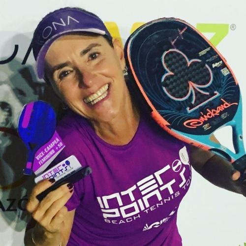 Rosana Meneghetti, vice-campeã da categoria 40+