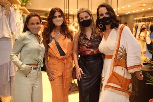 Eliane Haddad, Sônia Almeida, Beatriz Sene e Marina Vaz de Lima | Crédito: Débora Pitanguy