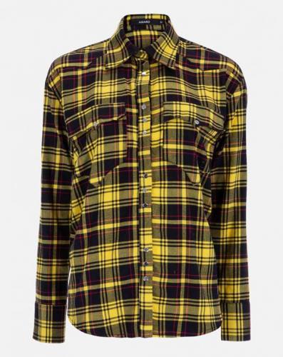 Amaro - Camisa de flanela xadrez western - R$189,90