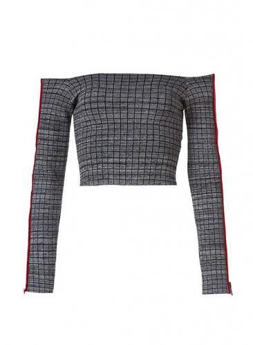 John John -Cropped quadrada tricot - R$398,00