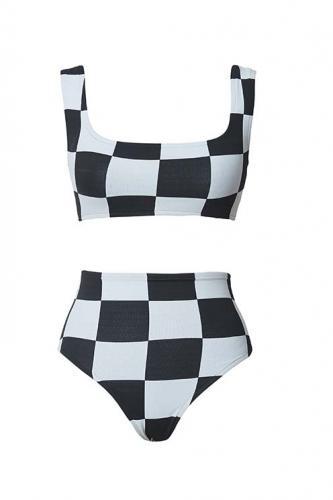 Lenny Niemeyer - Bikini quadrado jacquard - R$ 316,00