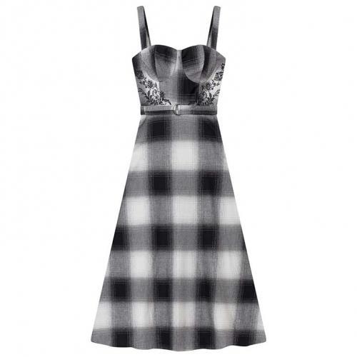 Lez a Lez - Vestido xadrez - R$599,90