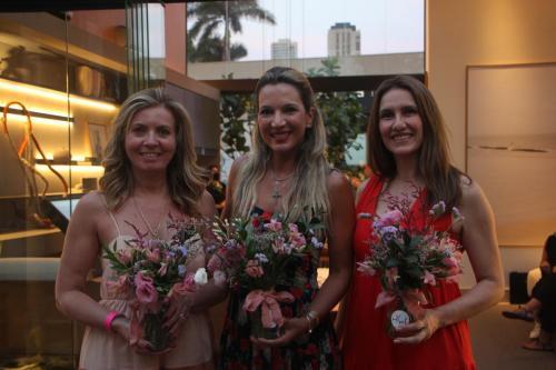 Elisa Cais, Marília Galhardo e Ana Paula Abraão