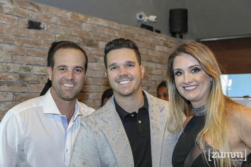 Gustavo, Leonardo e Alessandra Romero