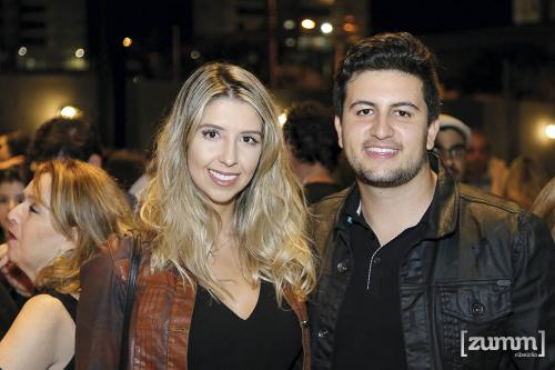Jordana Baranda e Victor Griffon