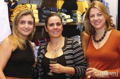 Aline Lima, Fernanda Reck e Luciana Colla