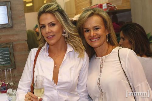 Lívia Perissoto e Sandra Pinto