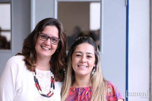 Daniela Ferreira e Juliana Peres