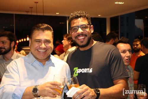 Clayton Lima e Marcos Santos