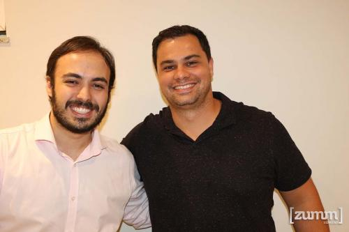 Daltom Freitas Neto e Vinicius Jacomini