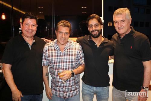 Fernando Torres, João Desuó, André Toseti e Marcos Marques