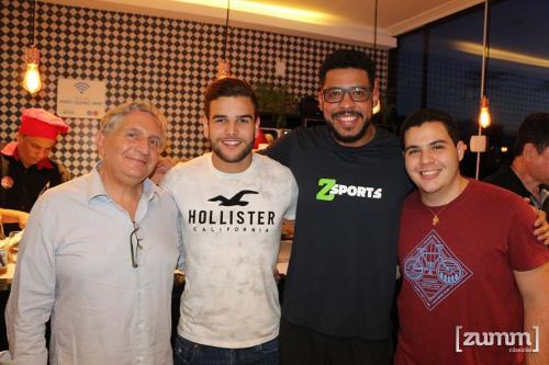 Gilberto Saber, Guilherme Abduch e João Carvalho Neto