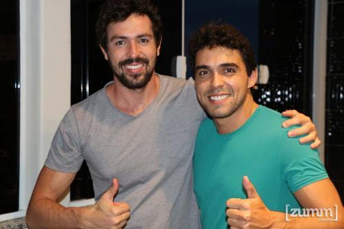 Guilherme Borini e Abilio Junqueira