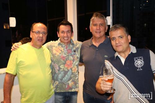 José Alberto Taveira, Tom Osório, Paulo Basile e Cristiano Feldman