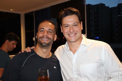 Márcio Deleigo e Milton Mantovani