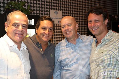 Valdir Pavani, Humberto Simioni, Siegfried Gradnauer e Rogério Restini