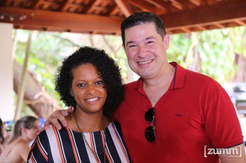 Giselda Emidio e Adriano Campos de Moura