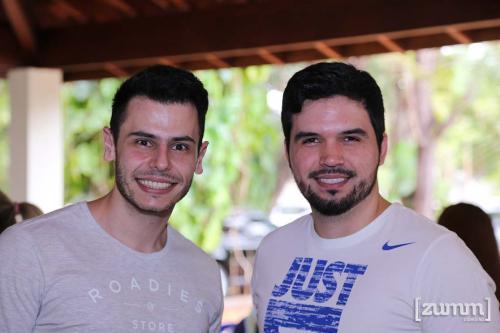 Ricardo Haddad e Daniel Pantoja
