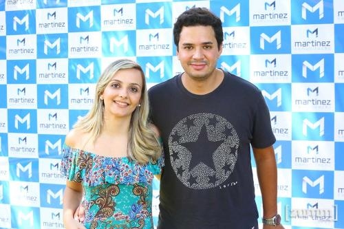 Danielle Nader e Felipe Melo