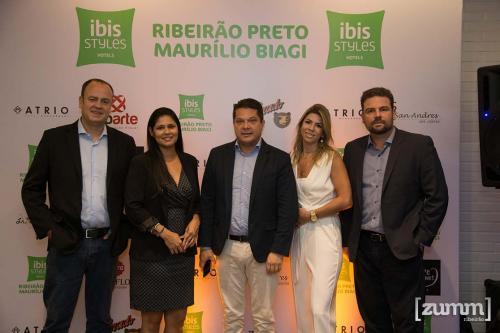Cesar Nunes, Tereza Matos, Rui Medeiros, Erika Naranjo e Paulo Melega