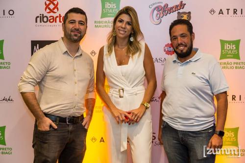 Guilherme Rocha, Erika Naranjo e Alessandro Almeida