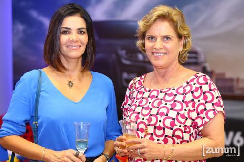 Renata Lemos e Maria do Carmo Sampaio