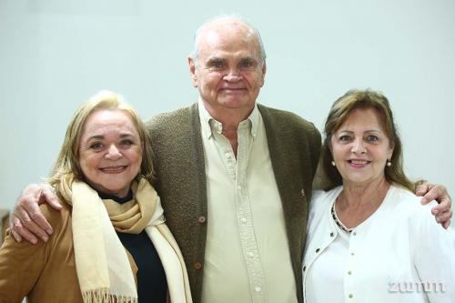 Esilia Benedini, Júlio Damian e Sônia Munia