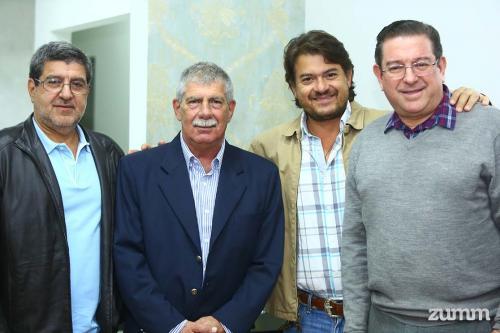 Jorge Bistane, Pedro Munia, Flávio Bistane e Pedro Bistane