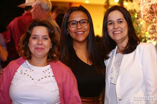 Barbara Valverde, Claudia Rezende e Monica Amaral