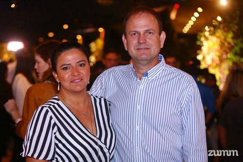 Eliane e Gustavo Strini
