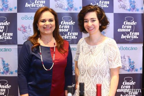 Teresa e Ana Paula Roscoe