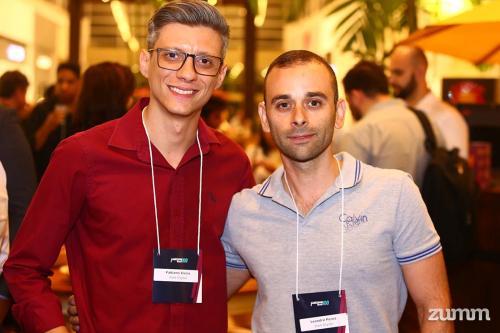 Fabiano Vieira e Leandro Perez