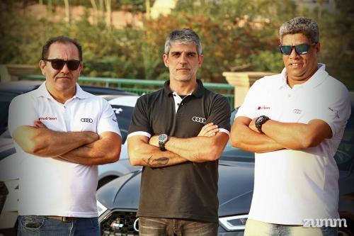 Heitor Fernandes, Leo Marconatto e João Vasconcelos