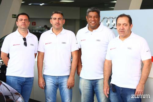 Maurício Fernandes, Marco Colombo, João Vasconcelos e Heitor Fernandes