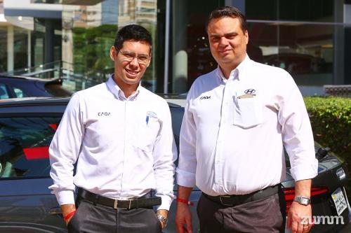 Renan Yuki e Adriano Bazan
