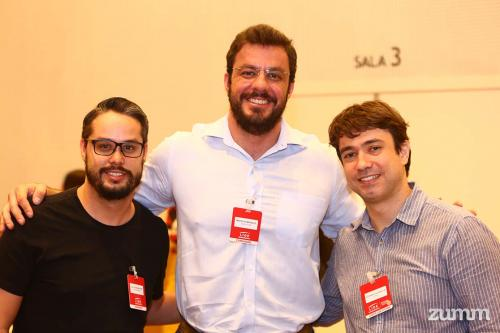 Caio César Monteiro, Maurício Marques e Eduardo Falsarella