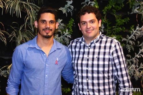Anderson Natsumi e Rafael Martinez