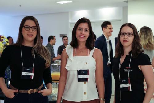 Laís Ferreira, Janaína Pedroso e Vanessa Silva
