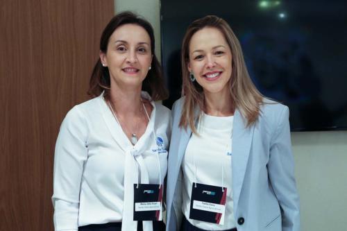 Maria Júlia Vicari e Talita Cury Robusti
