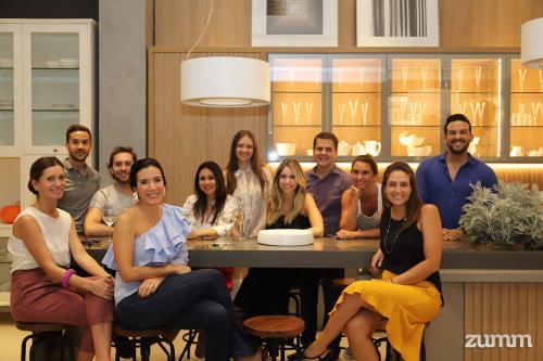 Participantes do Cooking Class